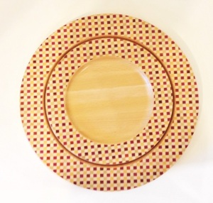 marquetry plate1s